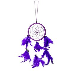 40cm x 11cm Dreamcatcher Traumfänger Neon Lila Dream Catcher